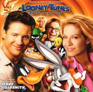 Jerry Goldsmith: Looney Tunes - Back In Action - Cover