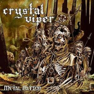 Cover - Crystal Viper: Metal Nation