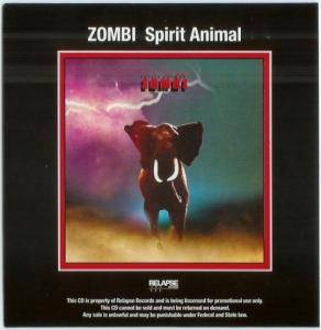 Zombi: Spirit Animal - Cover