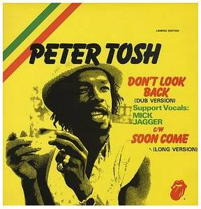 Peter Tosh: Don't Look Back - Cover