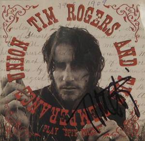 Cover - Tim Rogers & The Temperance Union: Spit Polish