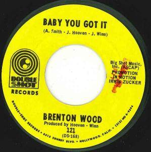 Cover - Brenton Wood: Baby You Got It