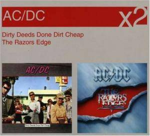AC/DC: Dirty Deeds Done Dirt Cheap / The Razors Edge - Cover