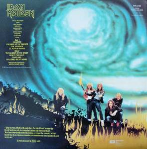 Iron Maiden: The Number Of The Beast (LP) - Bild 2