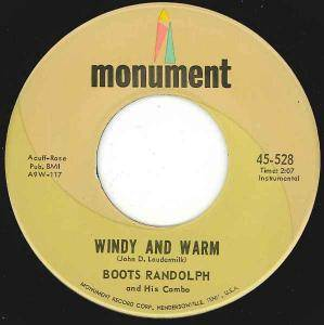 Cover - Boots Randolph: Windy And Warm