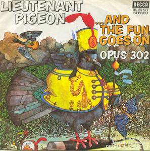 Cover - Lieutenant Pigeon: ...And The Fun Goes On