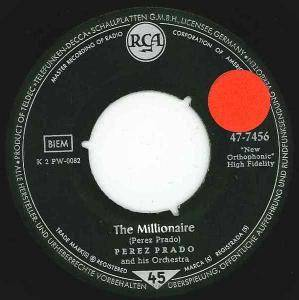 Cover - Pérez Prado & His Orchestra: Millionaire, The
