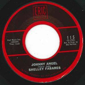Cover - Shelley Fabares: Johnny Angel