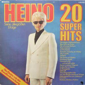 Heino: 20 Super Hits - Cover