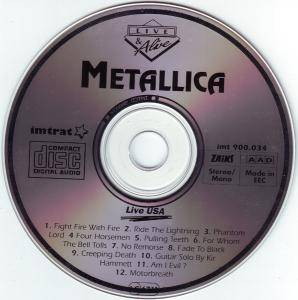 Metallica: Live USA (CD) - Bild 3