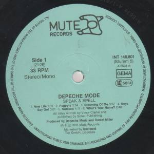 Depeche Mode: Speak & Spell (LP) - Bild 3