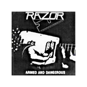 Razor: Armed And Dangerous - Cover
