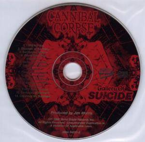 Cannibal Corpse: Gallery Of Suicide (CD) - Bild 3