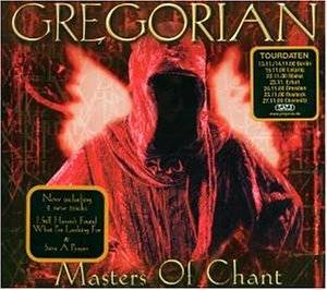 Gregorian: Masters Of Chant - Cover