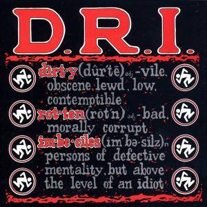 D.R.I.: Definition - Cover