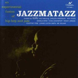 Guru: Jazzmatazz Vol. 1 - Cover
