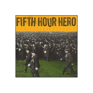 Fifth Hour Hero: Scattered Sentences - Cover