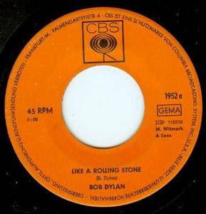 Bob Dylan: Like A Rolling Stone - Cover