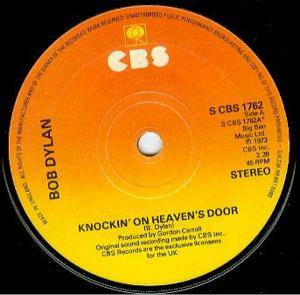 Bob Dylan: Knockin' On Heaven's Door - Cover