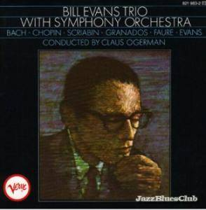 Cover - Bill Evans Trio, The: Bill Evans Trio With Symphony Orchestra