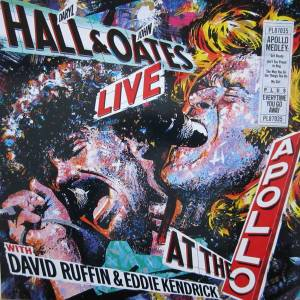 Daryl Hall & John Oates: Live At The Apollo - Cover