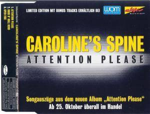 Cover - Caroline's Spine: Attention Please