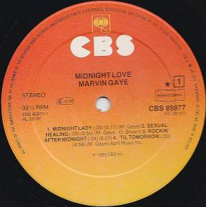Marvin Gaye: Midnight Love (LP) - Bild 5