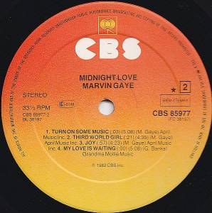Marvin Gaye: Midnight Love (LP) - Bild 6