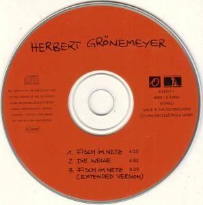 Herbert Grönemeyer: Fisch Im Netz (Single-CD) - Bild 3