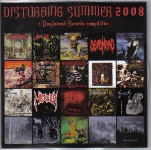 Cover - Disincarnate: Disturbing Summer 2008 - A Displeased Records Compilation