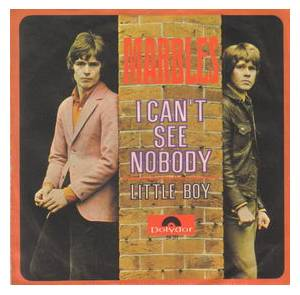 Cover - Marbles, The: I Can't See Nobody