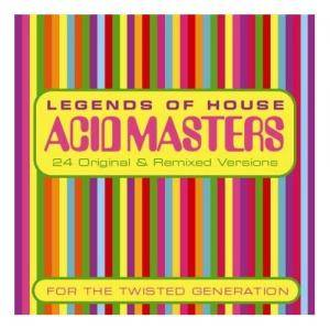 Cover - Fast Eddie: Acid Masters - Legends Of House