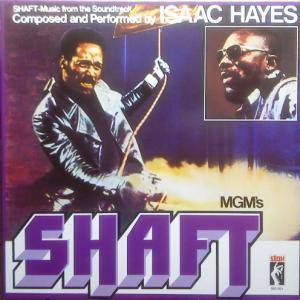Isaac Hayes: Shaft - Cover