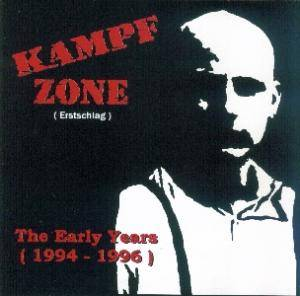 Kampfzone: Early Years (1994-1996), The - Cover