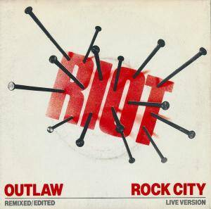 Riot: Outlaw - Cover
