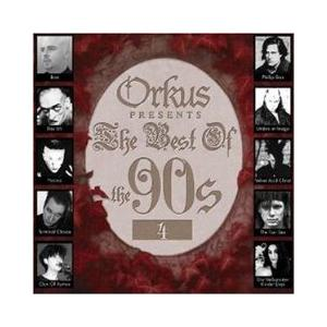 Orkus Presents The Best Of The 90s Vol. 4 - Cover