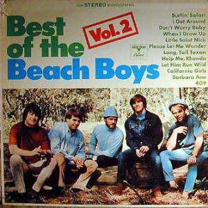 The Beach Boys: Best Of The Beach Boys Vol. 2 - Cover