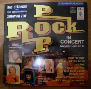 Various Artists/Sampler - ZDF - Rock Pop In Concert : München Open Air '87