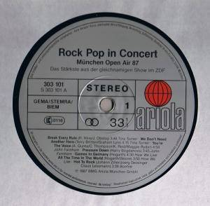 Rock Pop In Concert: München-Open Air '87 (2-LP) - Bild 2