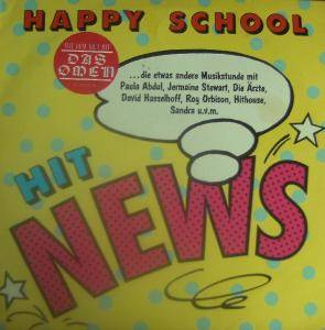 Cover - David Hasselhoff & Catherine Hickland: Happy School - Hit News