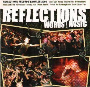 Cover - November Coming Fire: Reflections Records Sampler 2006