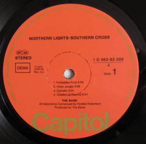 The Band: Northern Lights - Southern Cross (LP) - Bild 2