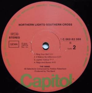 The Band: Northern Lights - Southern Cross (LP) - Bild 4