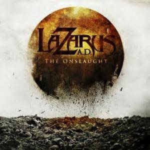 Lazarus A.D.: Onslaught, The - Cover