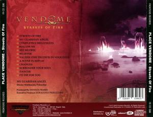 Place Vendome: Streets Of Fire (CD) - Bild 2