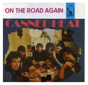 Canned Heat: On The Road Again - Cover