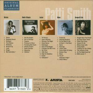 Patti Smith: Original Album Classics (5-CD) - Bild 2