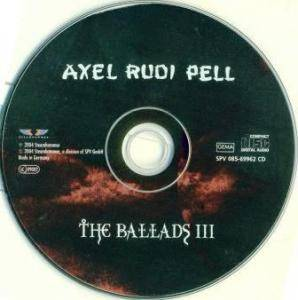 Axel Rudi Pell: The Ballads III (CD) - Bild 4