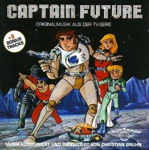 Christian Bruhn: Captain Future - Originalmusik Aus Der TV-Serie - Cover