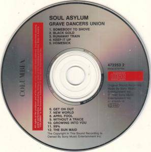 Soul Asylum: Grave Dancers Union (CD) - Bild 4